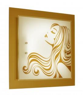 Настенно-потолочный светильник Silver Light Kiss 824.40.7, LED 20 Вт.