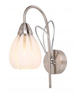 Настенный светильник (бра) Silver Light 215.45.1, матовый хром/хром