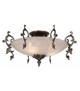 Настенно-потолочный светильник Silver Light Picardy 837.53.3, бронза