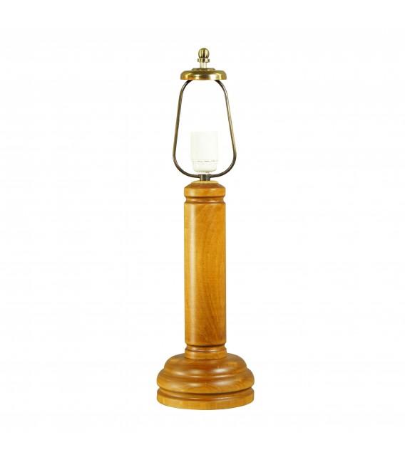 Ножка для настольной лампы Neoretro НБ10, дерево, с проводом и выключателем — Купить по низкой цене в интернет-магазине