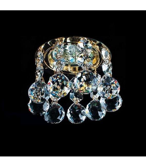 Точечный светильник Totci 1109-Br, цвет бронза, с хрусталём Asfour — Купить по низкой цене в интернет-магазине