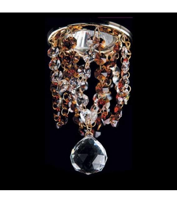 Точечный светильник Totci 606-21-Cr, цвет хром, с хрусталём Asfour — Купить по низкой цене в интернет-магазине