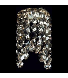 Точечный светильник Totci 620-111210-Cr, цвет хром, с хрусталём Asfour — Купить по низкой цене в интернет-магазине