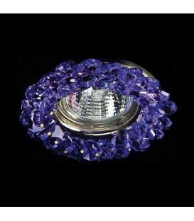 Точечный светильник Totci 30165-G, цвет золото, с хрусталём Asfour — Купить по низкой цене в интернет-магазине