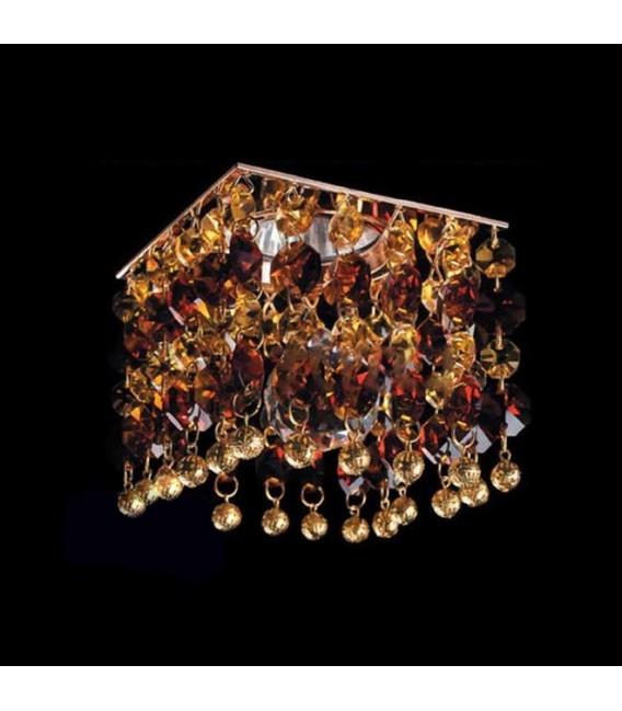 Точечный светильник Totci 625-2021-Cr, цвет хром, с хрусталём Asfour — Купить по низкой цене в интернет-магазине