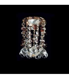 Точечный светильник Totci 626-21-Cr, цвет хром, с хрусталём Asfour — Купить по низкой цене в интернет-магазине