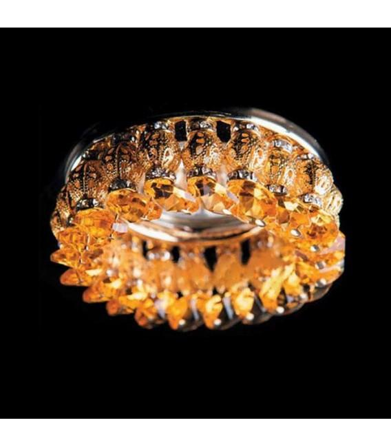 Точечный светильник Totci 635-20-Br, цвет бронза, с хрусталём Asfour — Купить по низкой цене в интернет-магазине