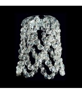 Точечный светильник Totci La Joie 636-00-G, цвет золото, с хрусталём Asfour — Купить по низкой цене в интернет-магазине