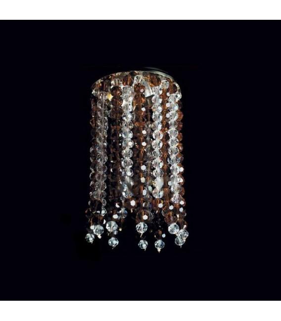 Точечный светильник Totci 653-21-Cr, цвет хром, с хрусталём Asfour — Купить по низкой цене в интернет-магазине