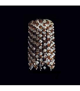 Точечный светильник Totci 654-21-Cr, цвет хром, с хрусталём Asfour — Купить по низкой цене в интернет-магазине