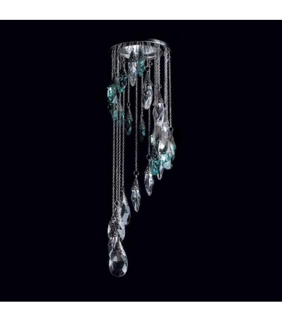 Точечный светильник Totci 655-60-Br, цвет бронза, с хрусталём Asfour — Купить по низкой цене в интернет-магазине