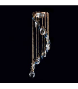 Точечный светильник Totci 656-50-Cr, цвет хром, с хрусталём Asfour — Купить по низкой цене в интернет-магазине