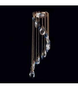Точечный светильник Totci 656-50-Br, цвет бронза, с хрусталём Asfour — Купить по низкой цене в интернет-магазине