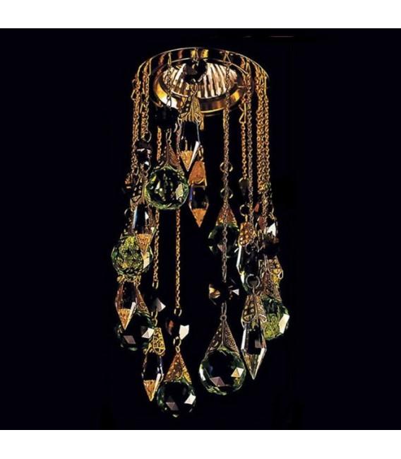 Точечный светильник Totci Princess 41270-Br, цвет бронза, с хрусталём Asfour — Купить по низкой цене в интернет-магазине