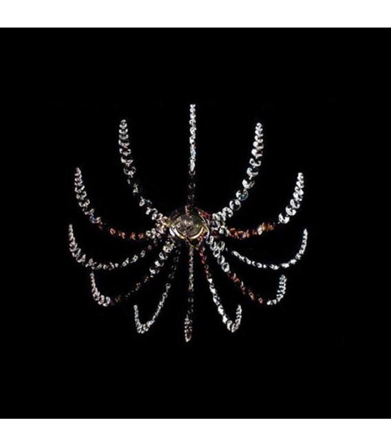 Точечный светильник Totci 50024-Br, цвет бронза, с хрусталём Asfour — Купить по низкой цене в интернет-магазине