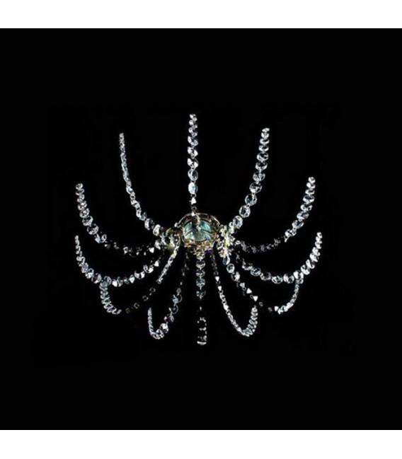 Точечный светильник Totci 50082-Br, цвет бронза, с хрусталём Asfour — Купить по низкой цене в интернет-магазине