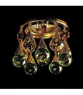 Точечный светильник Totci 41020-Br, цвет бронза, с хрусталём Asfour — Купить по низкой цене в интернет-магазине
