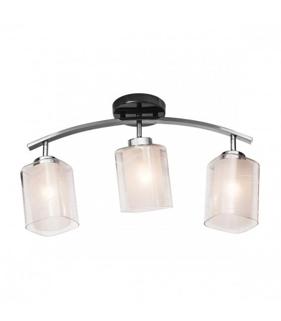 Настенно-потолочный светильник Silver Light Victoria 254.59.3, чёрный жемчуг — Купить по низкой цене в интернет-магазине