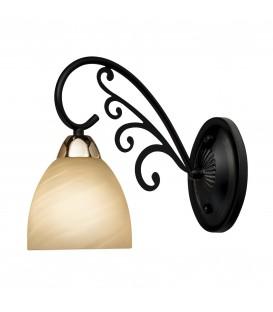 Настенный светильник (бра) Silver Light Janette 261.49.1, венге/золото — Купить по низкой цене в интернет-магазине