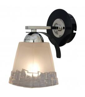 Настенный светильник (бра) Silver Light 703.49.1, чёрный глянец/хром — Купить по низкой цене в интернет-магазине