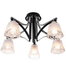 Потолочная люстра Silver Light 703.59.5, чёрный глянец/хром