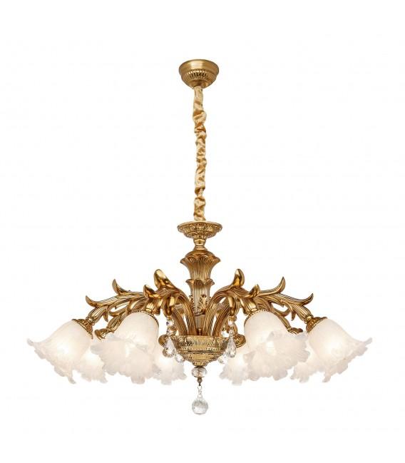 Подвесная люстра Silver Light Gioconda 730.58.8, золото — Купить по низкой цене в интернет-магазине