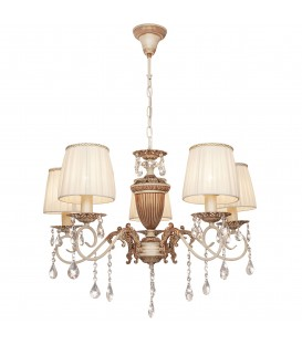 Потолочная люстра Silver Light Pallada 731.51.5, белая/золотая патина — Купить по низкой цене в интернет-магазине