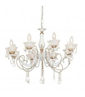 Потолочная люстра Silver Light Hany 732.51.8, белый/золото — Купить по низкой цене в интернет-магазине